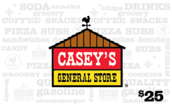 More about the 'Casey's General Stores $25 Gift Card' product