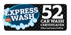 More about the '52 Car Wash Certificates' product