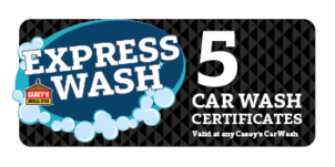 More about the '5 Car Wash Certificates' product